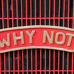 Why not by Pete Reed (CC-BY-NC)